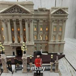 Dept 56 Buckingham Palace Collectors Edition Dickens' Village Historic Complete
