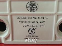 Dept 56 Buckingham Palace Illuminated Historical Landmark Dickens Village Series