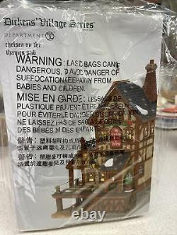Dept 56 CHELSEA ON THE THAMES PUB Dickens Village 6007595 Department 56 NEW 2021