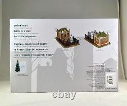 Dept 56 CHRISTMAS CAROL CEMETERY BOX SET 6000601 Dickens Village D56 Brand NEW