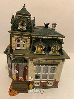 Dept 56 Dickens Snow Village HAUNTED MANSION Halloween HURRY UP & BUY