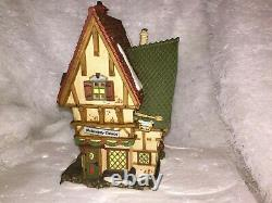 Dept 56 Dickens' The Melancholy Tavern The Christmas Carol Revisited with Box