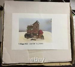 Dept 56 Dickens VILLAGE MILL Ltd Ed 51 of 2,500 MINT - VERY RARE