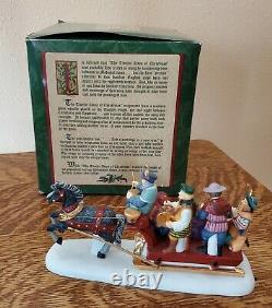 Dept 56 Dickens Village 12 DAYS OF CHRISTMAS TWELVE DRUMMERS DRUMMING