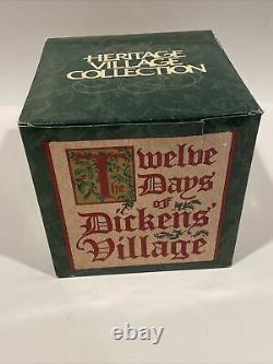 Dept 56 Dickens Village 12 Days Of Christmas Twelve Drummers Drumming 58387