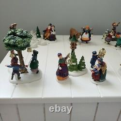 Dept. 56 Dickens Village 12 Days Of Xmas Figurines Entire Set