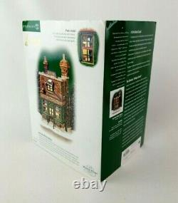 Dept 56 Dickens Village A Christmas Carol Lighted NORFOLK BIFFINS BAKERY with box