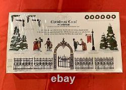 Dept 56 Dickens Village A Christmas Carol Revisited Set of 10 Pieces