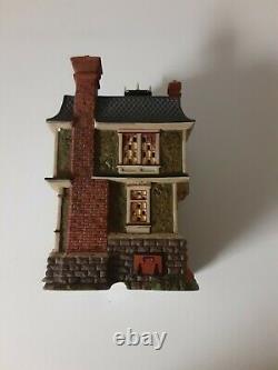 Dept 56 Dickens Village All Hallows Eve Barleycorn Manor Halloween In Box