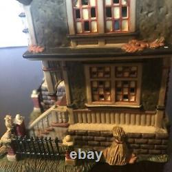 Dept 56 Dickens Village All Hallows Eve Barleycorn Manor Halloween Mint In Box