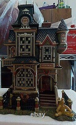 Dept. 56 Dickens' Village All Hallows Eve Barleycorn Manor NIB RARE