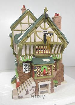 Dept 56 Dickens Village Buildings, Annual Heritage Series Collection, Set Of 4
