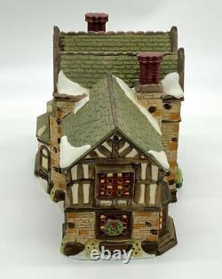 Dept 56 Dickens Village Chesterton Manor RARE! Mint Condition MIB