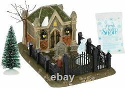 Dept 56 Dickens Village Christmas Carol Cemetery 6000601 BRAND NEW