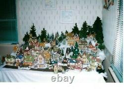Dept 56 Dickens Village Collectors Estate Sale 53 House's & 40+ Accessory Item's