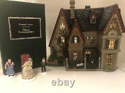 Dept 56 Dickens Village Great Expectations Satis Manor #58310 NIB