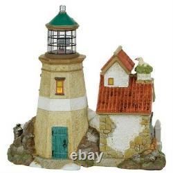 Dept 56 Dickens Village Great Yarmouth Lighthouse Platinium #4059380 BRAND NEW