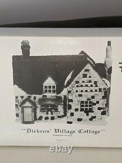 Dept. 56 Dickens Village Hand Painted Lot Of 11 Buildings & 1 Carolers