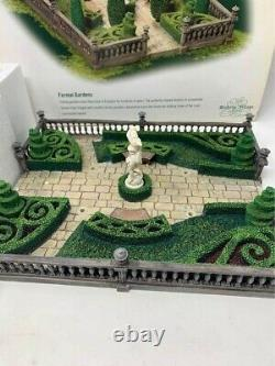 Dept. 56 Dickens Village Heritage Collection Formal Gardens