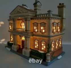 Dept 56 Dickens' Village-Hickman Well's Gentlemen's Club #58743 New Retired