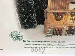 Dept 56 Dickens Village Historical Landmark Big Ben #58341 Retired