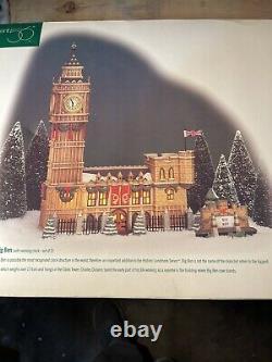 Dept 56 Dickens Village Historical Landmark Series Beautiful Big Ben New