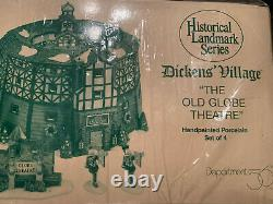 Dept 56 Dickens Village Historical Landmark Series The Old Globe Theatre New