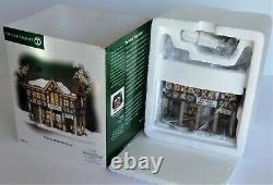 Dept 56 Dickens Village Lighted Building #58737 PLUMSTEAD MARKET HOUSE