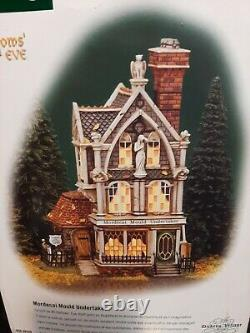Dept 56 Dickens Village Mordecai Mould Undertaker All Hallow's Eve
