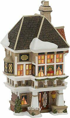 Dept 56 Dickens Village NEPHEW FRED'S HOME 4036525 DEALER STOCK-BRAND NEW IN BOX