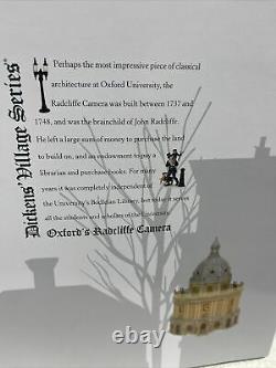 Dept 56 Dickens Village OXFORDS RADCLIFFE CAMERA 6005397 Department 56 NEW 2021