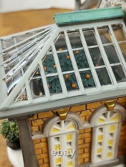 Dept 56 Dickens Village Retired Margrove Orangery #589440