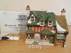 Dept 56 Dickens Village Ruth Marion Scotch Woolens RARE Limited Proof Ed