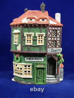 Dept 56 Dickens Village Series C Fletcher Public House Limited Edition 11762