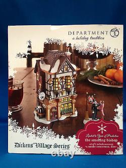 Dept 56 Dickens' Village Series The Smoking Bishop #4023612 Limited New In Box