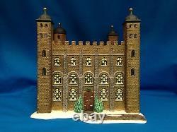 Dept 56 Dickens' Village Series Tower Of London #58500 Historical Landmark Nib