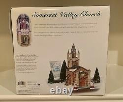 Dept. 56, Dickens Village, Set of 2 with Somerset Valley Church 56.58485