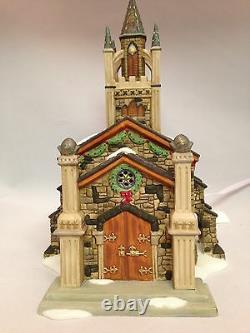 Dept 56 Dickens' Village Somerset Valley Church New In Box #56.58485 9 Piece Set