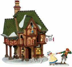 Dept 56 Dickens Village T. SMITH CHRISTMAS CRACKERS SET/2 58719 DEALER STOCK-NEW