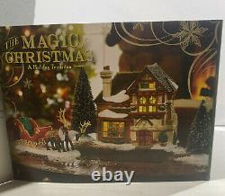 Dept 56 Dickens Village The Magic Of Christmas House Mint In Box 4042397