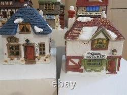 Dept 56 Dickens Village The Original 7 Shops Of Dickens Village