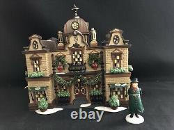 Dept 56 Dickens Village The Slone Hotel Set Of 2 58494 Lights Up! W Box