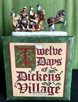 Dept 56 Dickens Village Twelve Days of Christmas, 12 Drummers Drumming Retired