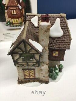 Dept 56 Dickens Village Xmas Carol Series Somerset Valley Church Belles House