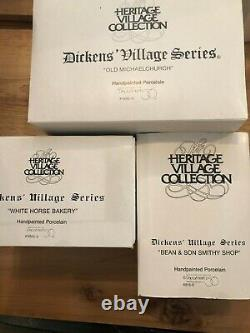 Dept. 56 Dickens Village and More Dept. 56 Approx. 160 boxed, 3 unboxed