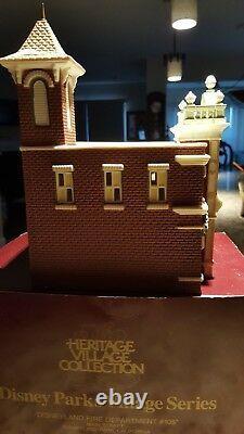 Dept 56 Disney Park Village Fire House