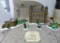 Dept. 56 Historical Landmark Series Dickens Village Tower of London 5 Piece 58500