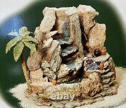 Dept 56 Little Town Of Bethlehem Working WATERFALL IN THE WILDERNESS #59806