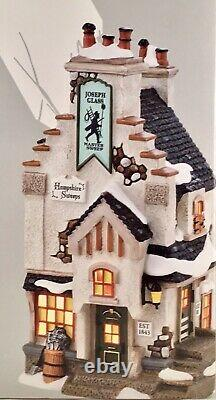 Dept 56 Lot of 2 HAMPSHIRE SWEEPS + LUCKY DAY FOR A SWEEP Dickens Village NEW
