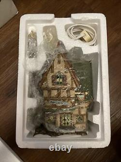 Dept 56 Retired Dickens Village Series Lot Of 4 Hard to Find
